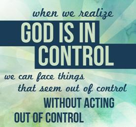 God's in control